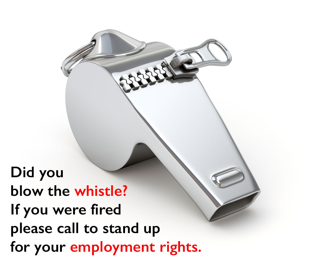 Whistleblower Attorney | Los Angeles Wrongful Termination Lawyer